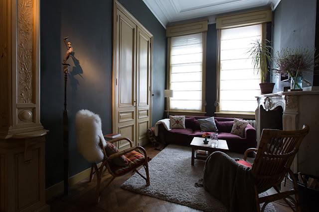 Haus und Garten in Einheit - Wohnen und Leben im Grünen, in Vintage Einrichtung und doch modern und jung