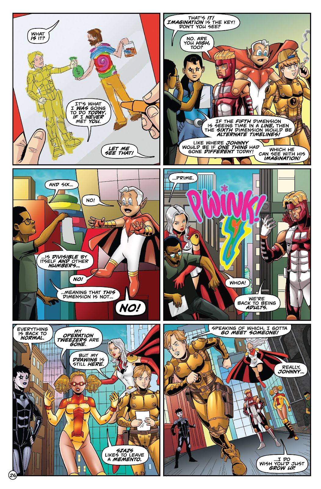 Alan Moore's Forgotten Awesome: Weekly Reading: Youngblood #10