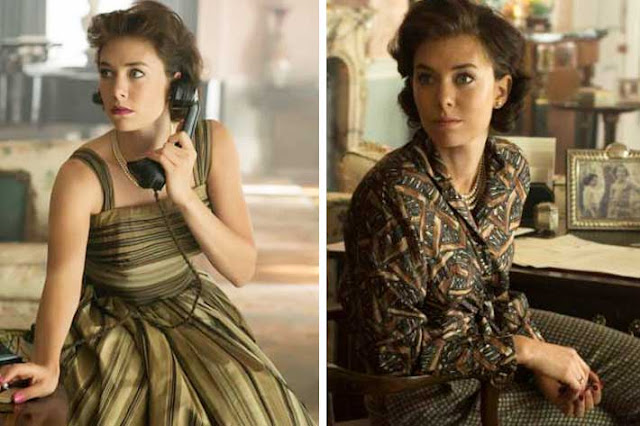 Looks Margaret (Vanessa Kirby) The Crown figurinos