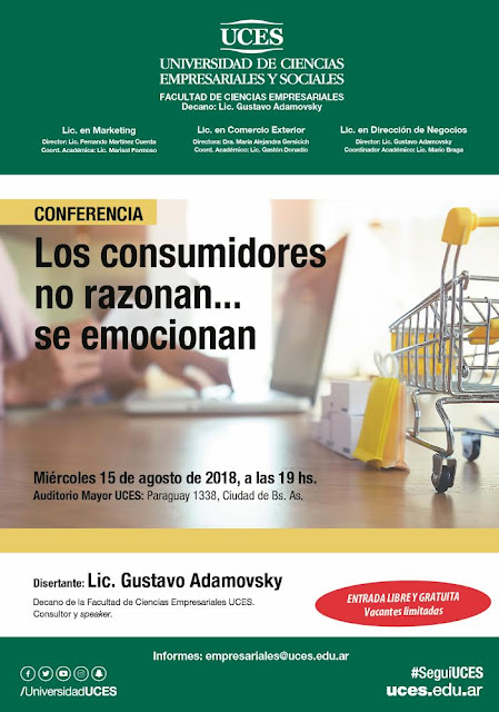 Los consumidores no razonan..., se emocionan - Conferencia