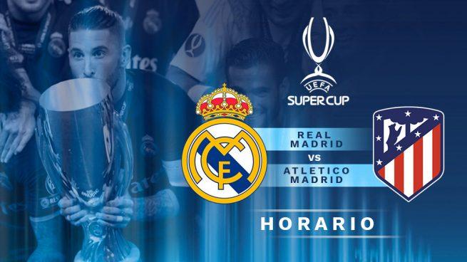 Horario y dónde ver: Real Madrid vs. Atlético Madrid