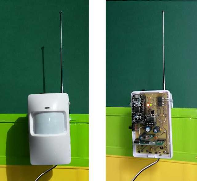 Domowe centrum IoT - Arduino NANO + ESP8266