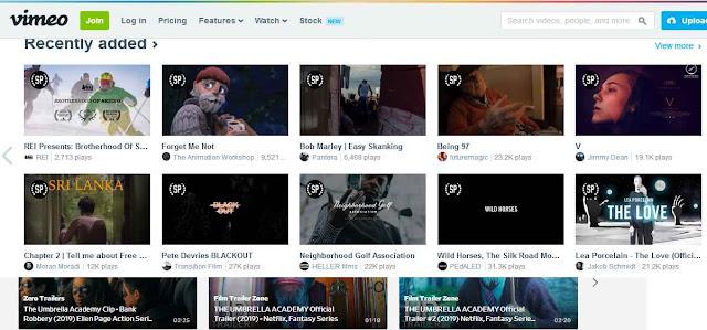 أفضل 10 مواقع مجانية  بديلة ليوتيوب YouTube لمشاهدة المقاطع والبحث عن الفيديوهات