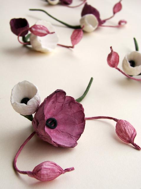 boutonniere con fiori di carta per matrimonio Green nelle Langhe