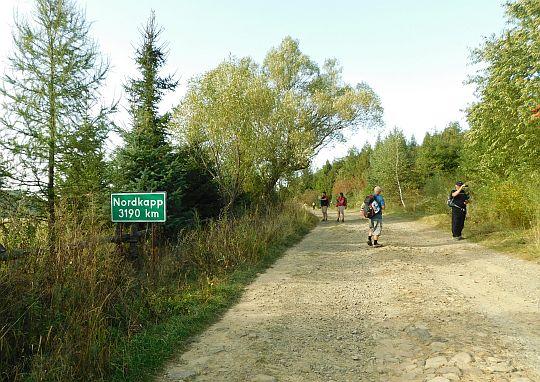 W przeciwną stronę do Nordkapp mamy 3190 km.