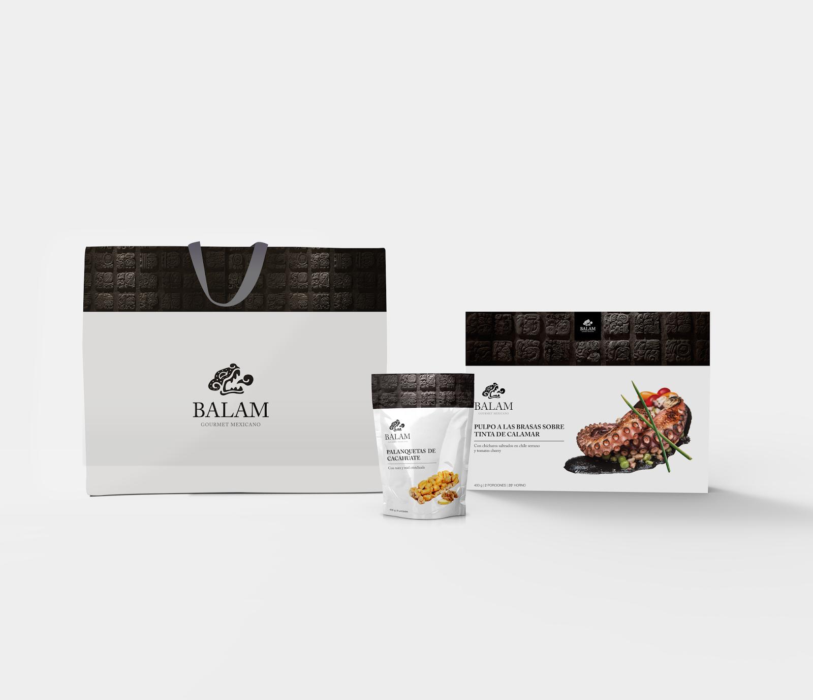 Thiết kế bao bì sản phẩm Balam