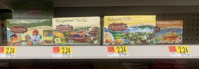 Celestial Seasonings at Walmart