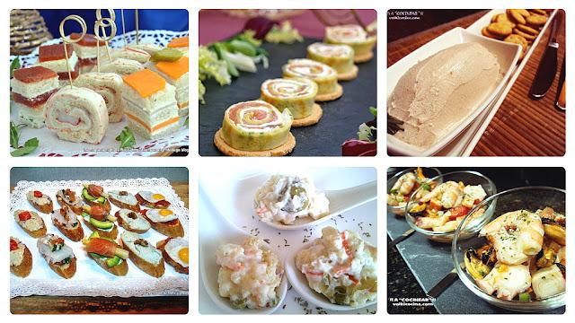 aperitivos fáciles para fiestas y celebraciones
