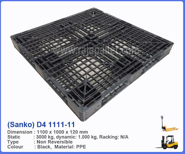Pallet Plastik D4-1111-11 (Sanko)