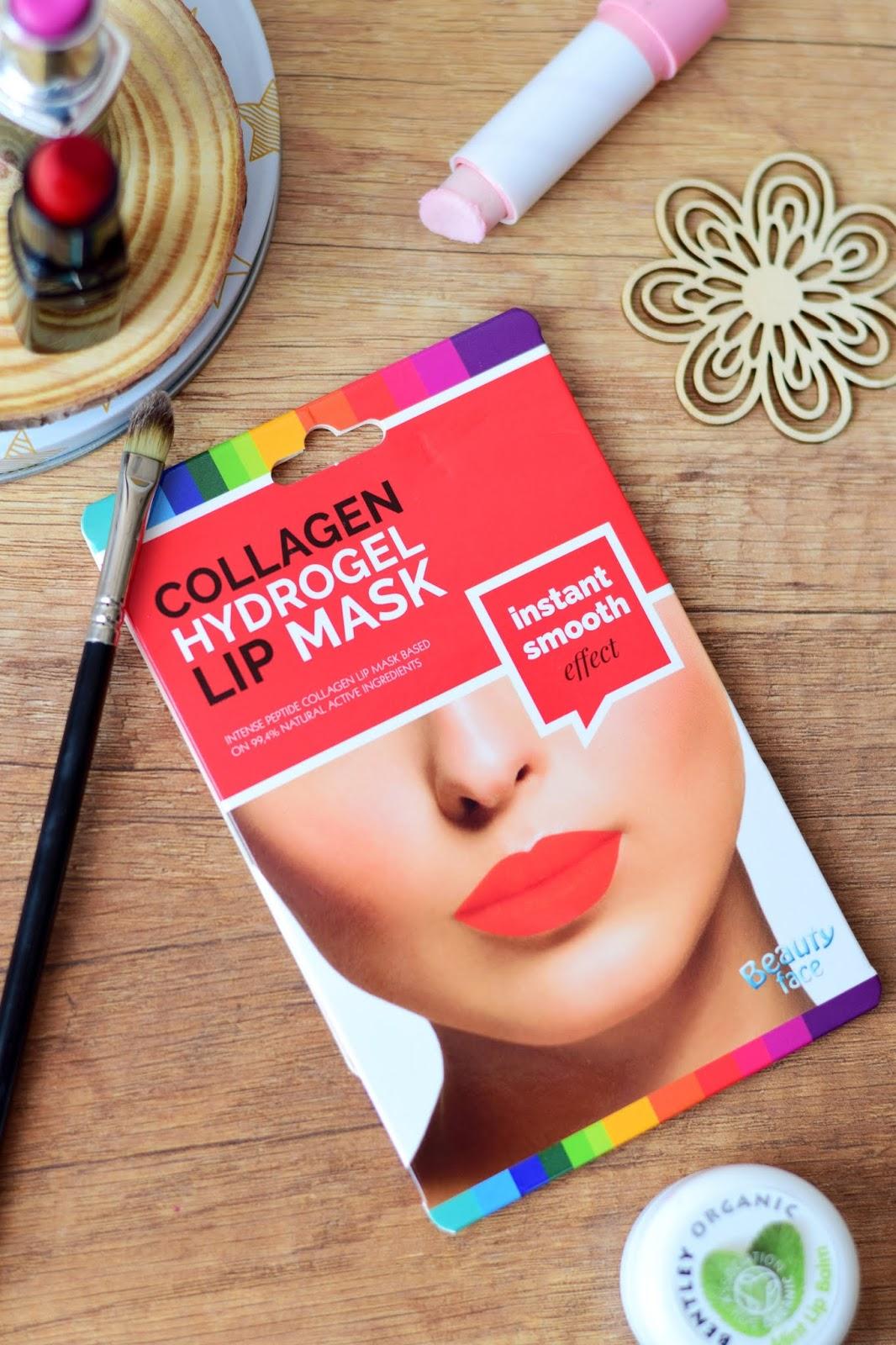 beauty_face_kolagenowa_hydrożelowa_maska_na_usta_do_ust_blog_recenzja