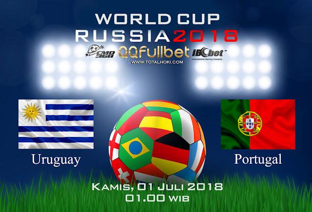 BOLA88 - PREDIKSI 16 BESAR PIALA DUNIA: URUGUAY VS PORTUGAL 01 JULI 2018 ( RUSSIA WORLD CUP 2018 )