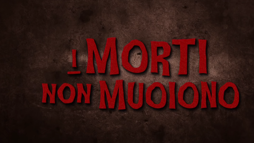 I MORTI NON MUOIONO di Jim Jarmusch - Trailer italiano ufficiale