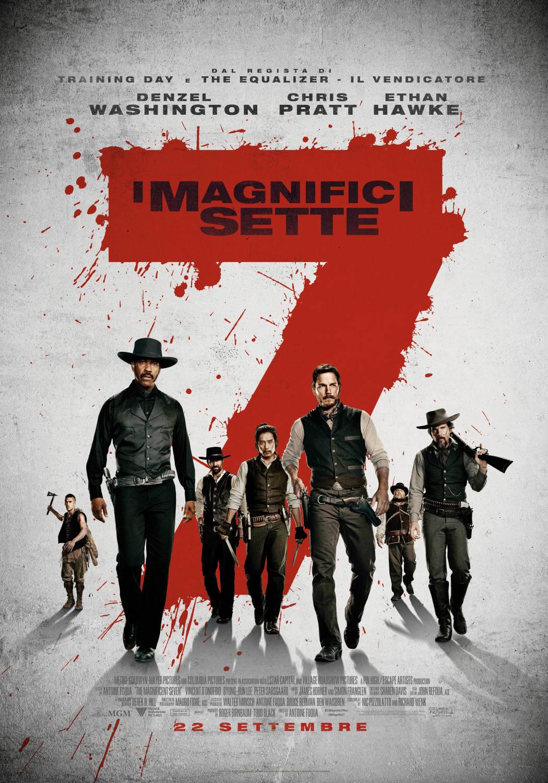 Canzone I magnifici sette Pubblicità e Trailer film