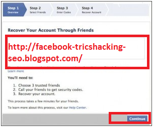How to The Recover Your Friend's Facebook Account By Trusted