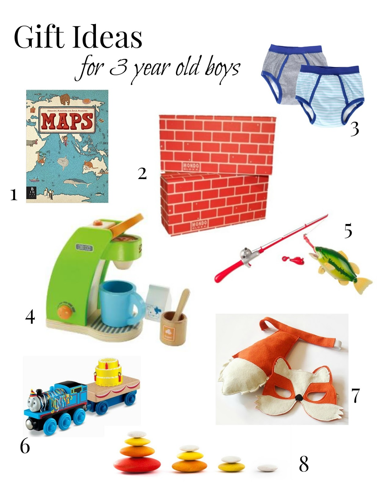 Pink to Green Friday Favorites Gift Ideas For 3 Year Old Boys