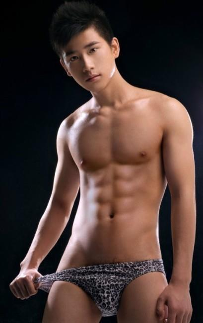 Chinese Male Model Naked