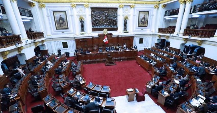 Pleno del Congreso de la República sesiona hoy desde las 09:00 horas