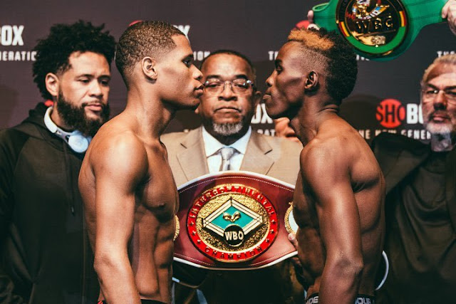 Devin Haney vs. Xolisani Ndongeni Weigh In