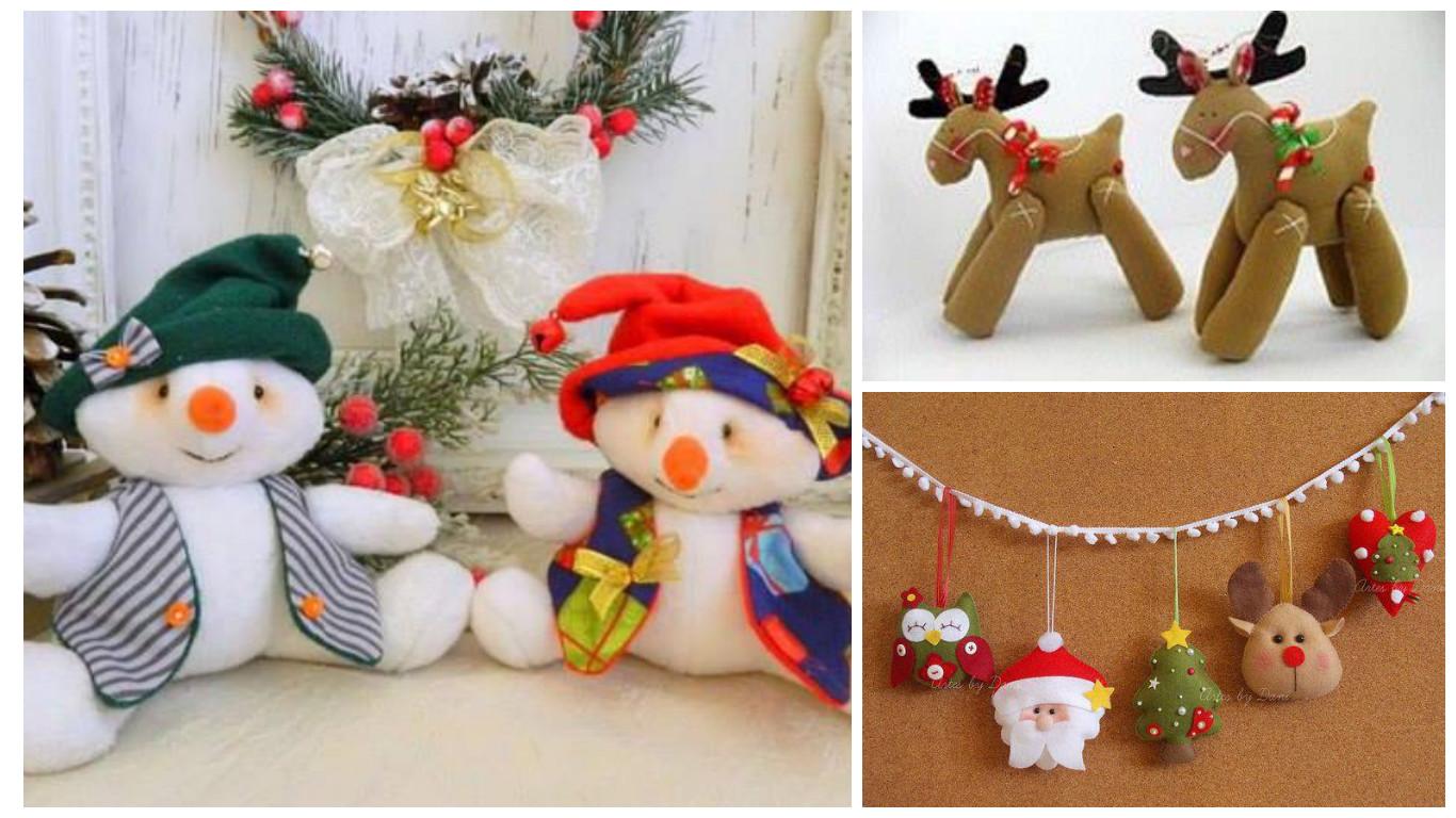 11 moldes para hacer mu ecos y adornos navide os en - Manualidades para hacer adornos navidenos ...