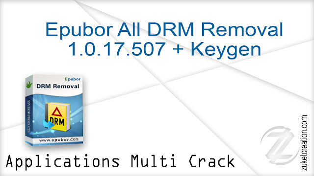 epubor drm removal registration code