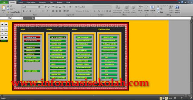 Kumpulan Sistem Aplikasi Administrasi Guru Software Sekolah Full Web Gratis Format Excel