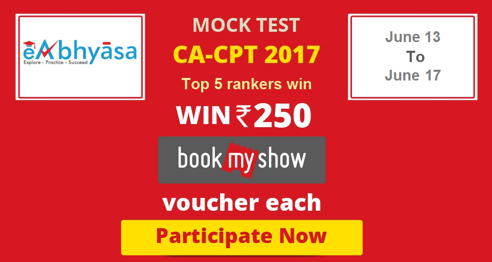 CPT Mock Test | CPT Exam 2017 | CPT Exam Papers | CPT Mock Test ...