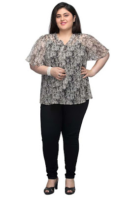 http://www.oxolloxo.com/printed-v-neck-top-with-tie-up-neck-and-cami.html