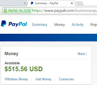 Free Account Paypal With Country United Kingdom (Email+Password+IP)