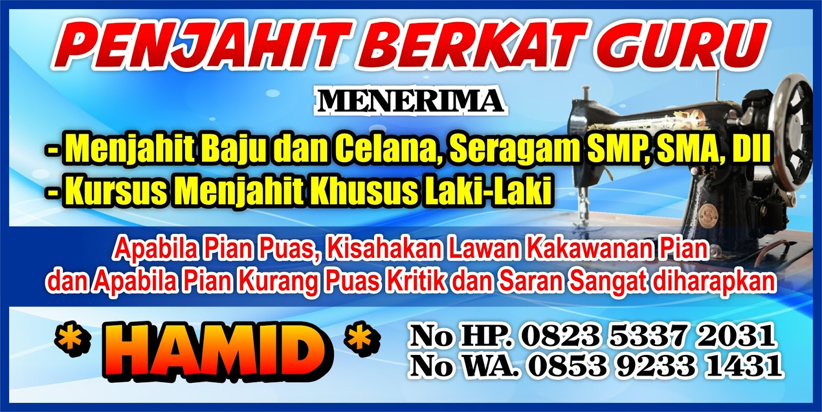 Contoh Desain Spanduk Muhammadiyah Jasa Desain Grafis ...