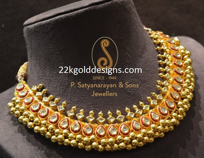 Royal Antique Tussi Necklace