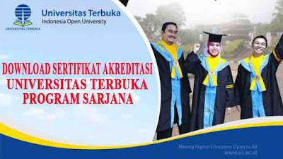 download sertifikat akreditasi pt dan prodi ut pdf