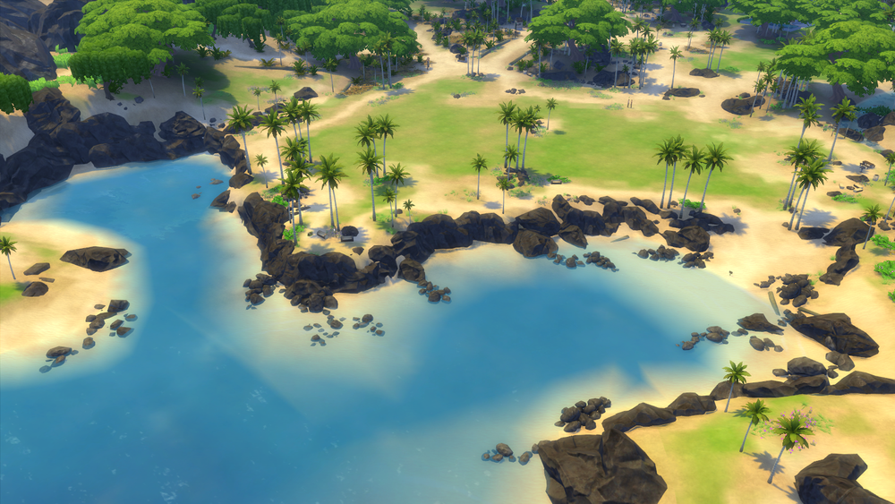 Sims 4 cc's   the best: sims 4 tropical getaway modpack by simfans.de