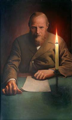 Ο Ντοστογιέφσκι σε πίνακα του Κονσταντίν Βασίλιεφ