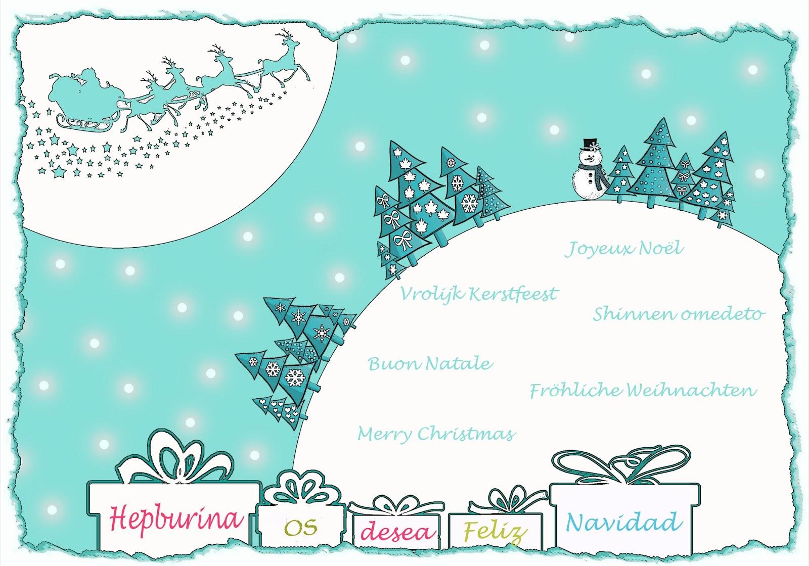 Como Decir Feliz Navidad En Holandes.Hepburina 40 Maneras De Decir Feliz Navidad