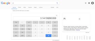 mencari konstanta di google
