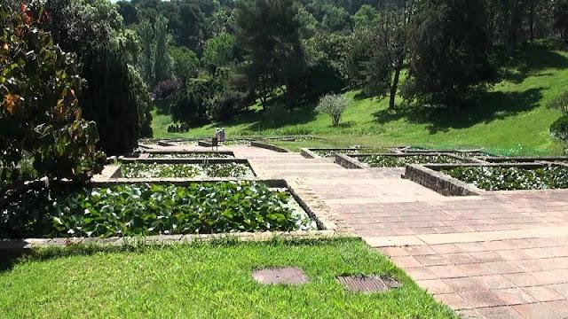 Jardins de Mossèn Cinto Verdaguer em Montjuic