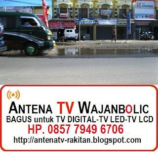 Jual ANTENA TV WAJANBOLIC Bengkulu