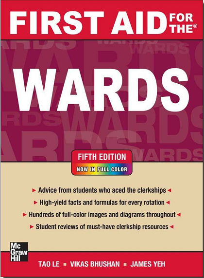 First Aid for the Wards 5th Edition [EPUB]