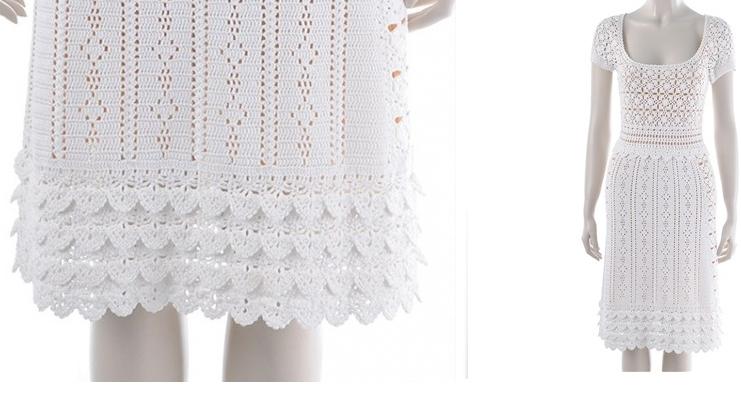 Patron Crochet Puntillas Escamas