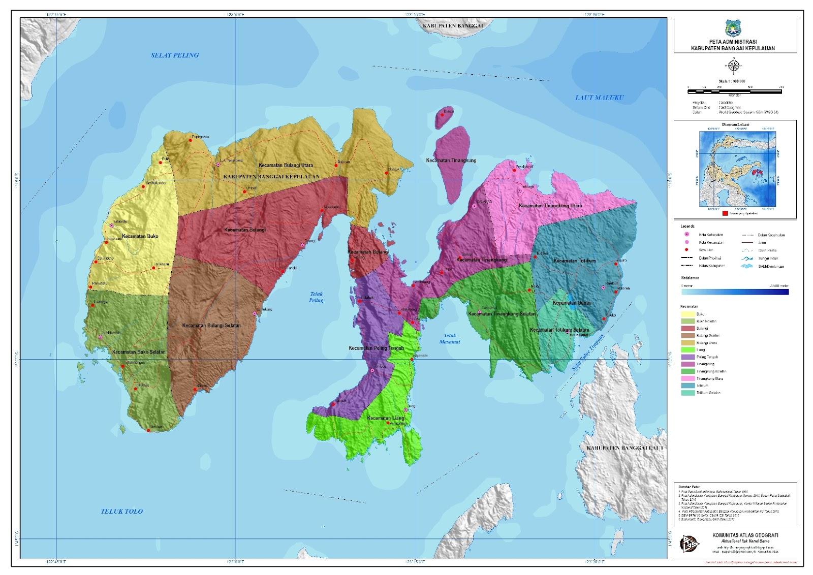 Makalah Tentang Evaluasi Lahan Read Sumber Kelompokxls Peta Administarsi Kabupaten Di Sulawesi Tengah Catatan Kuliah