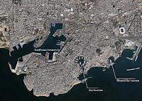 El puerto de Mounichia, en El Pireo, al suroeste de Atenas.