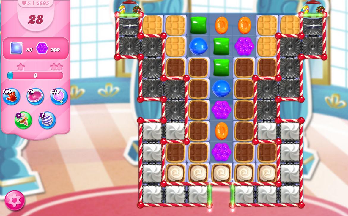 Candy Crush Saga level 5295