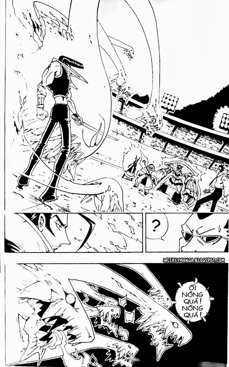 Shaman King [Vua pháp thuật] chap 132 trang 3