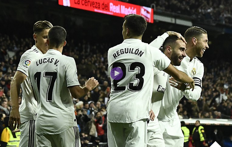 ملخص واهداف مباراة ريال مدريد وفالنسيا 2 - 0 السبت 1-12-2018