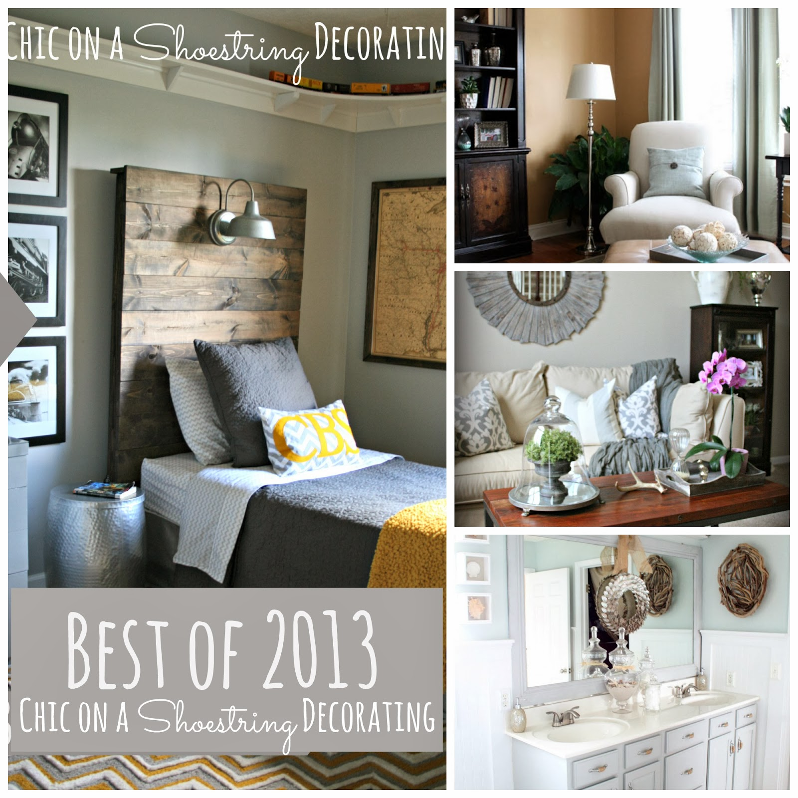 Best of 2013 Chic on a Shoestring Decorating blog