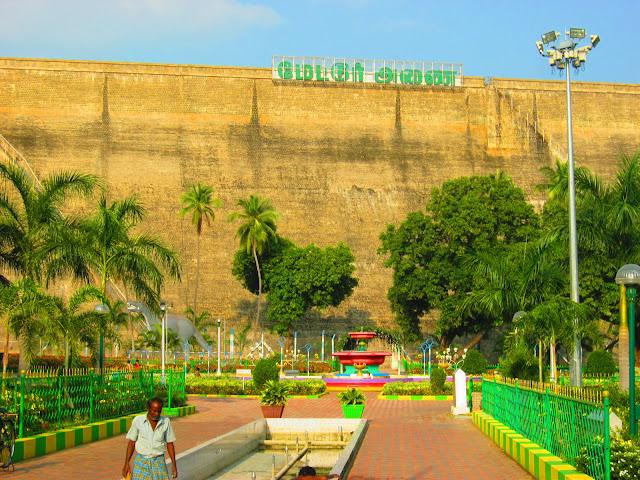 Mettur Dam Park