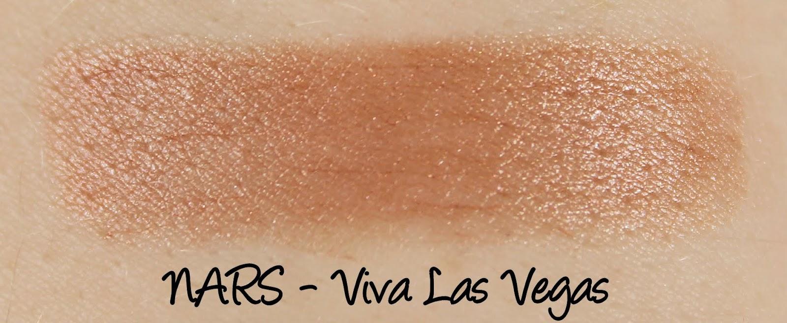 NARS Viva Las Vegas Lipstick Swatches & Review