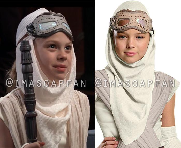 Charlotte Cassadine, Scarlett Fernandez, Rey Star Wars Costume, General Hospital, GH