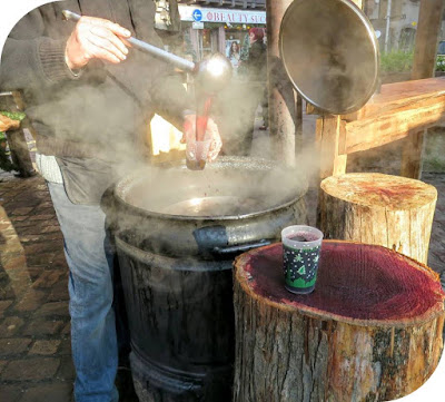 Celebrating Christmas in Strasbourg and Alsace - Glühwein in Obernai