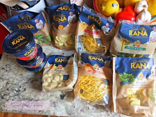 The Art of Random Willy-Nillyness: Giovanni Rana Pasta & Sauces Review and Giveaway!